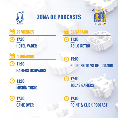 RetroBarcelona2019Podcasts
